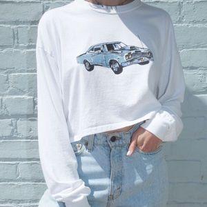 Brandy Melville Corey Motor Sport 1984 Shirt